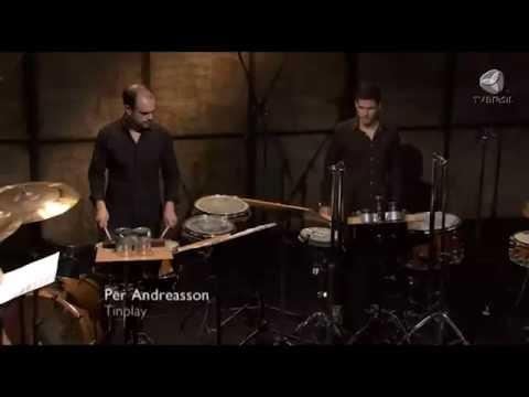 TV BRASIL - Tinplay (Per Andreasson) - Grupo de Percussão do UniCBM