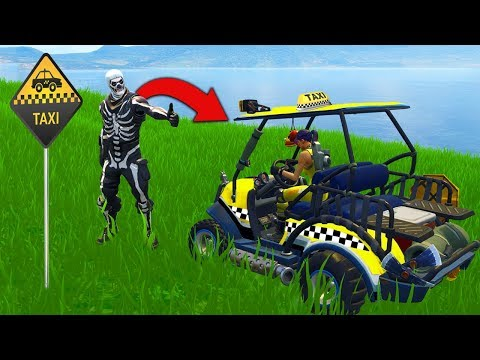 The TAXI CHALLENGE In Fortnite Battle Royale! en streaming