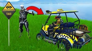The TAXI CHALLENGE In Fortnite Battle Royale!