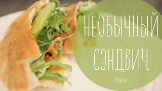 Очень вкусный сэндвич (рецепт рукавички)