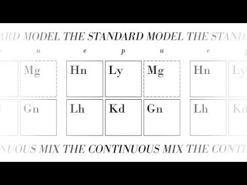 The Standard Model (The Continuous Mix)