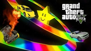 RAINBOW ROAD - GTA 5 Gameplay