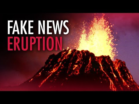 CBC lies about global warming causing volcanic eruptions