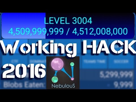 NEBULOUS Hack Level/Xp!!  (3000 level) All version[HD]