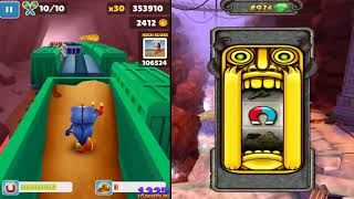 Temple Run 2 vs Subway Surfers || Android iOS-Gameplay
