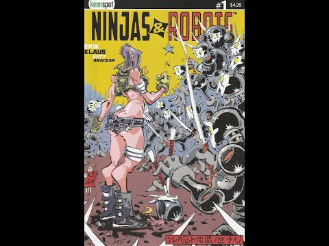 Ninjas & Robots — Issue 1 (2020, Keenspot) Review