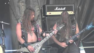 Deströyer 666 - Black Magic (Slayer Cover) - Live Motocultor 2013