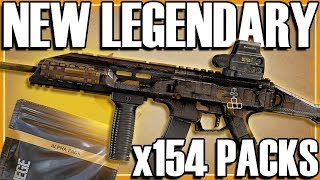 NEW Alpha Pack Legendaries! - Rainbow Six Siege (154 Alpha Pack Opening)
