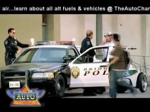 2010 Super Bowl TV Ads  Audi Green Police