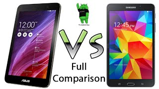 Asus Memo Pad 7 vs Galaxy Tab 4 7.0 - Full Comparison