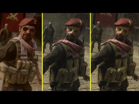Call Of Duty Modern Warfare Remastered PS4 Vs PS3 Vs PC Original Graphics Comparison