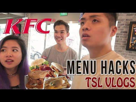 KFC SECRET MENU HACKS! | TSL Vlogs