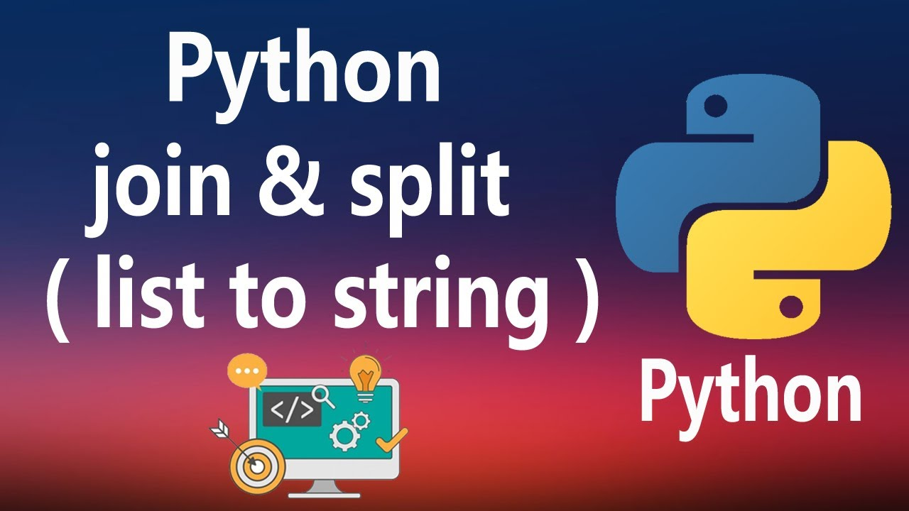 How to Use Join and Split Methods in Python