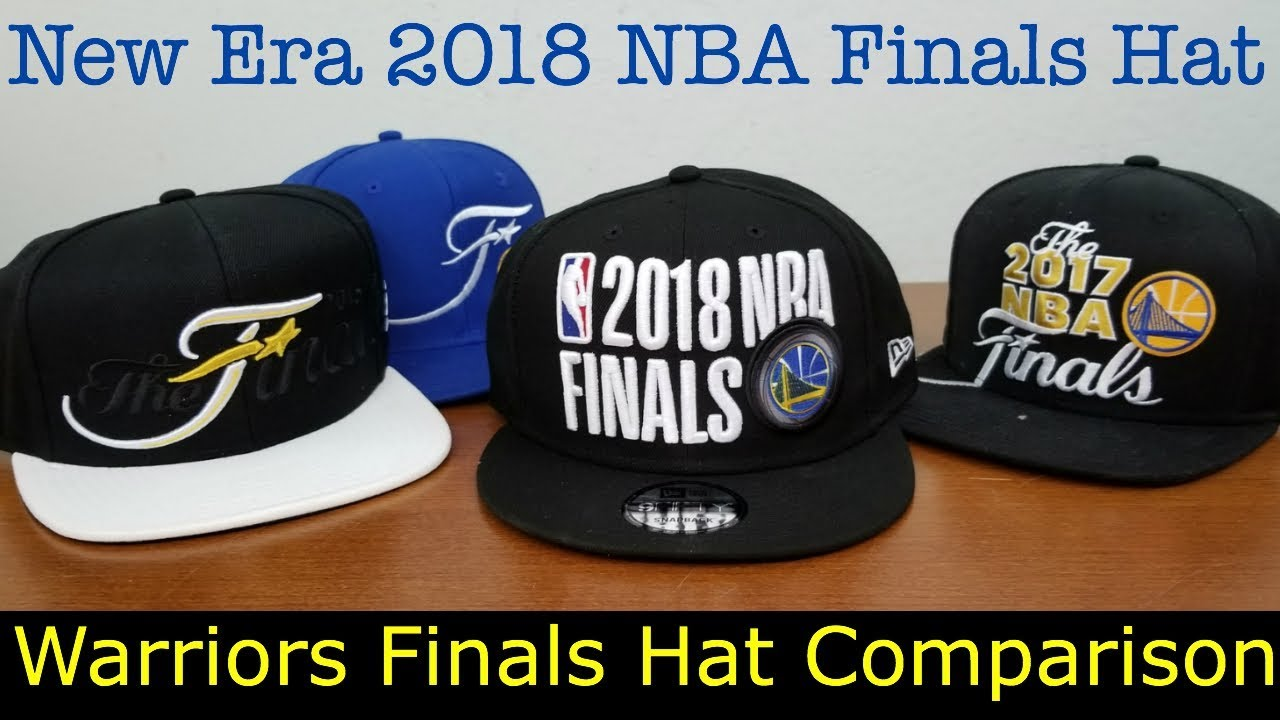 4c48242a18f New Era 2018 NBA Finals Hat - Comparing Golden State Warriors Finals ...