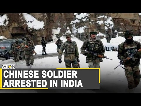 Breaking News: Chinese soldier with a PLA card arrested in India | LAC | Ladakh | World News
