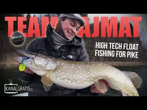 High Tech Float Fishing for Pike - TEAM HAJMAT (Failed attempt)