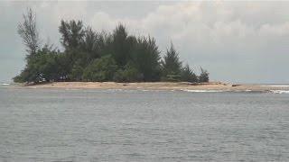 perjalanan ke pulau gosong kabupaten aceh barat daya - trip to gosong island