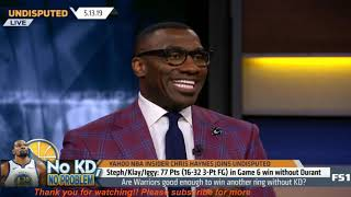 Undisputed   Are Warriors good enough to win another ring without KD? - Skip & Shannon HEADACHE