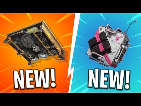 *NEW* SEASON 5 BACKPACKS, WEAPONS and TRAPS! - Fortnite: Battle Royale