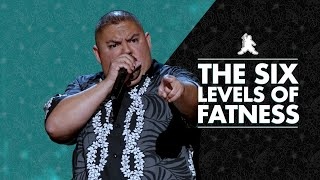The Six Levels of Fatness | Gabriel Iglesias
