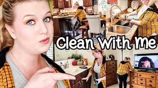 WHOLE HOUSE CLEAN WITH ME 2019   EXTREME CLEANING MOTIVATION   Living With Cambriea