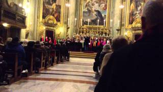San Gabriel Valley Choir at St. Ignatius Rome