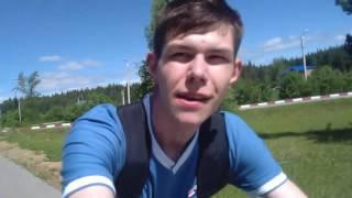Копия видео 'встреча группы поддержки. Велопробег 2016 Златоуст часть 2'