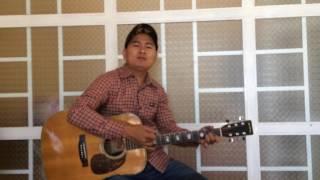 Cát Bụi Cuộc Đời guitar mộc