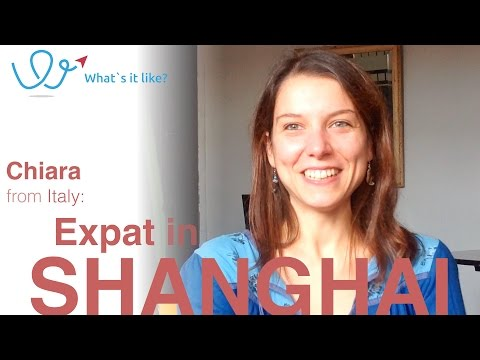 Living in Shanghai - Expat Interview with Chiara (Italy) about her life in Shanghai, China (part 1)