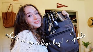What's in My College Bag // Journalism Student ♡
