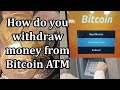 How to cash your bitcoin by ATM in hindi || How withdrawal Bitcoin at ATM by Tech Help In Hindi