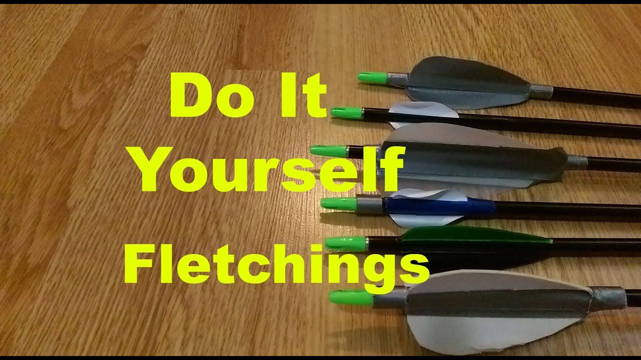 how to make homemade arrows