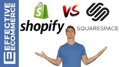 Shopify vs Squarespace Pros and Cons Review Comparison