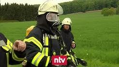 Feuerwehr entdeckt durch Zufall 35.000 Liter Chemikalien | n-tv