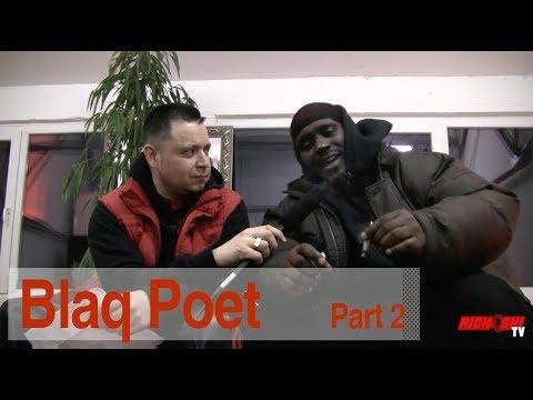 Blaq Poet on  working with DJ Premier & dissing Rakim, LL Cool J, Melle Mel, etc. (Part 2 of 2)