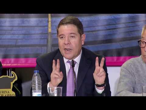 VÍDEO | Emiliano García-Page avanza que CMM tendrá en 2020 dos canales dedicados a los toros y la caza