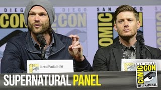 SUPERNATURAL Full Panel San Diego Comic Con 2018