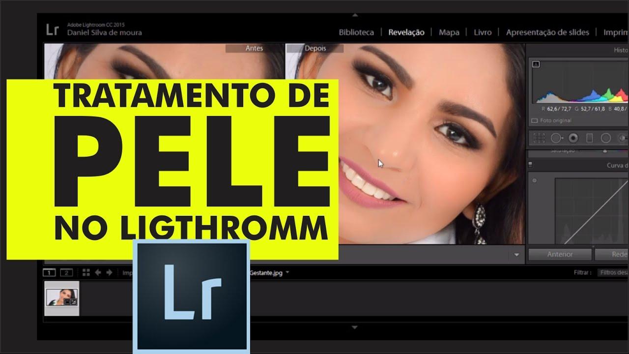 Tratamento De Pele No Lightroom Cc Aula De Pele Youtube