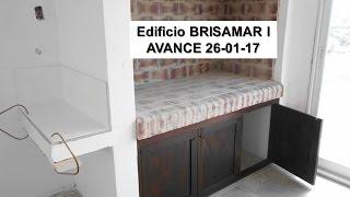 Edificio BRISAMAR I - Avance de Obra 26-01-2017