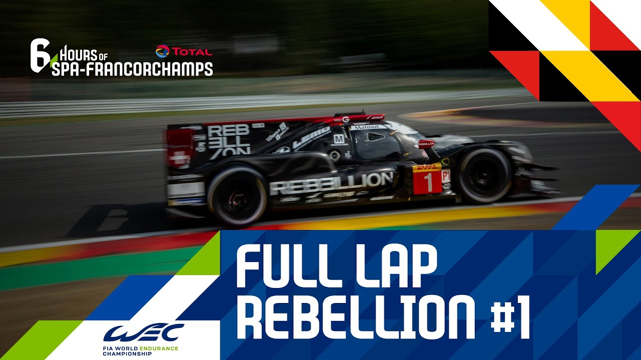 Total 6 hours of Spa-francorchamps - Full lap w/ Rebellion #1