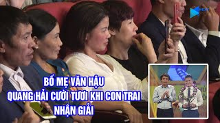 Bố mẹ Văn Hậu, Quang Hải nghẹn ngào cảm xúc trong Gala tổng kết V.League 2019   Next Sports
