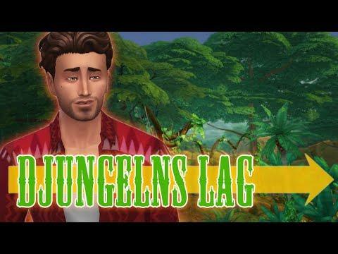 The Sims 4 DJUNGELNS LAG - Del 7: Väktarens relik
