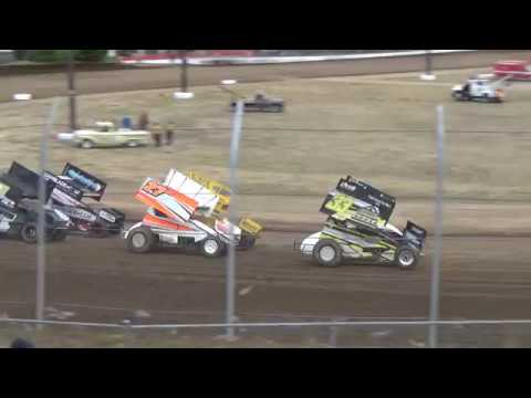 Grays Harbor Raceway, 2018 Fred Brownfield Classic, Night 2, ASCS National Series B-Main 1 and 2