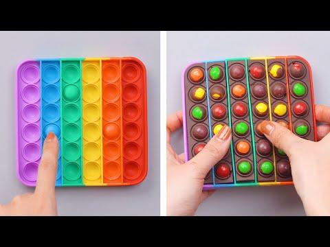 POP IT TO THE BEST SATISFYING DIYs CAKE | Fidget Toys Chocolate Cake Decorating Compilation