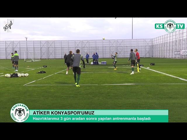 Galatasaray maçı hazırlıklarımız 3 gün aradan sonra yeniden başladı