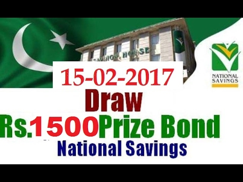 Rs.1500 PRIZE BOND 15 February 2017 HELD AT Hyderabad on 15-02-2017 Full Draw List