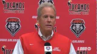 2014 Lobo Football | Coach Bob Davie: National Signing Day Press Conference