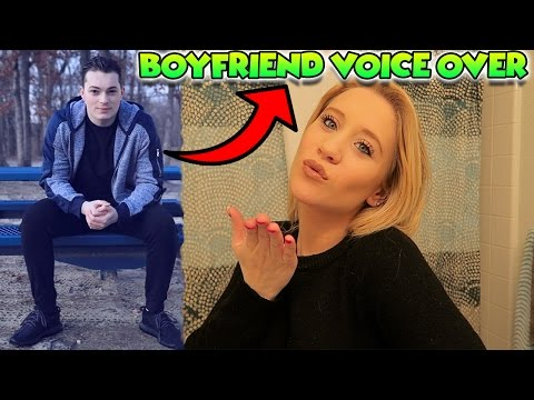 Thumbnail: BOYFRIEND DOES MY VOICEOVER! - MAKEUP ft. LANCE STEWART