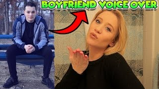 BOYFRIEND DOES MY VOICEOVER! - MAKEUP ft. LANCE STEWART