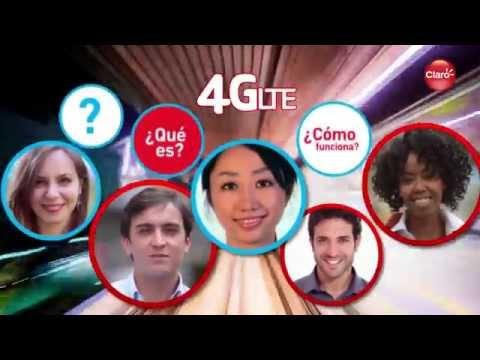 ¿Qué es Claro 4G LTE?